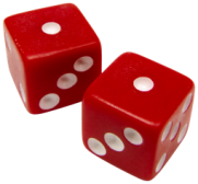 dice red snake eyes
