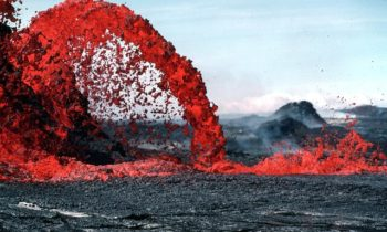 Hawaiian Adventures Lesson 1:  Never get lost while hiking across an active lava flow.