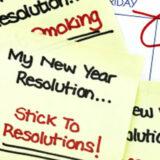 Make Goals Not Resolutions: 6 simple ideas